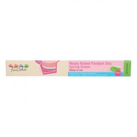 FunCakes Pâte à sucre étalée Verte - Spring Green - 430g