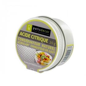 Acide Citrique Patisdécor 20 g