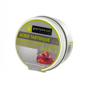Acide tartrique Patisdécor 20 g