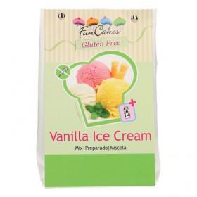 FUNCAKES MIX POUR VANILLA ICE CREAM, SANS GLUTEN 200G