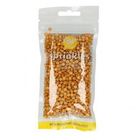 Wilton Sprinkles -Petits Confettis Or- 56g