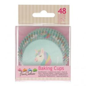FunCakes Caissettes à Cupcakes -Licorne- pcs/48