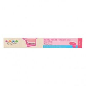 FunCakes Pâte à sucre étalée Rose - Hot Pink  - 430g