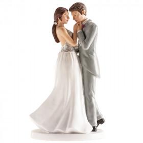 COUPLE DE MARIAGE VIENNE 18CM