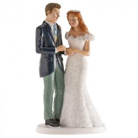 COUPLE DE MARIAGE LONDRES 16CM