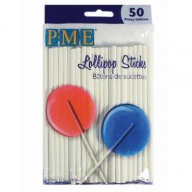 PME LOLLIPOP STICKS -11,5 CM- PK/50