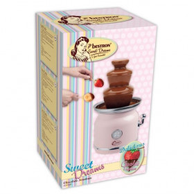 BESTRON SWEET DREAMS - FONTAINE À CHOCOLAT 90W - ROSE