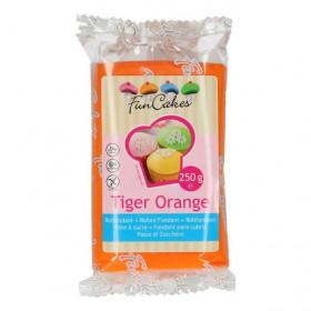 FunCakes Fondant - Tiger Orange - 250g