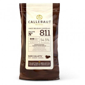 CALLEBAUT CHOCOLATE CALLETS -DARK- 1 KG