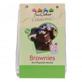 FunCakes Mix pour Brownies, Sans Gluten 500g