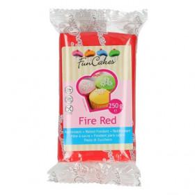 FunCakes Fondant - Fire Red - 250g