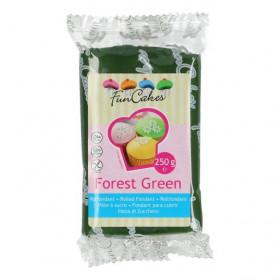 FunCakes Fondant - Forest Green - 250g