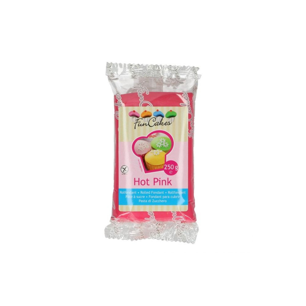 FunCakes Fondant - Hot Pink - 250g