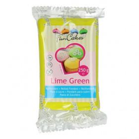 FunCakes Fondant - Lime Green - 250g