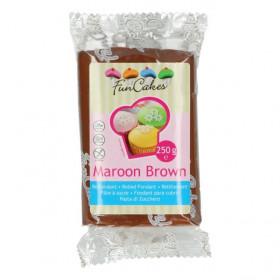 FunCakes Fondant - Maroon Brown - 250g