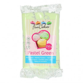 FunCakes Fondant - Pastel Green - 250g