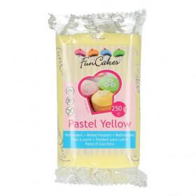 FunCakes Fondant - Pastel Yellow - 250g