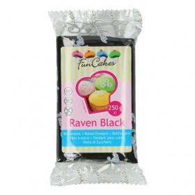 FunCakes Fondant - Raven Black - 250g